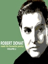Robert Donat Reads His Favourite Poetry, Volume 2 (MP3)